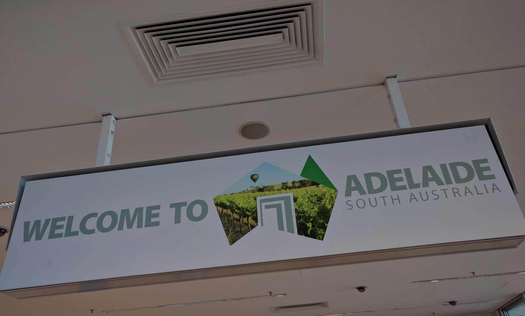 Adelaide: transport to and from the airport.