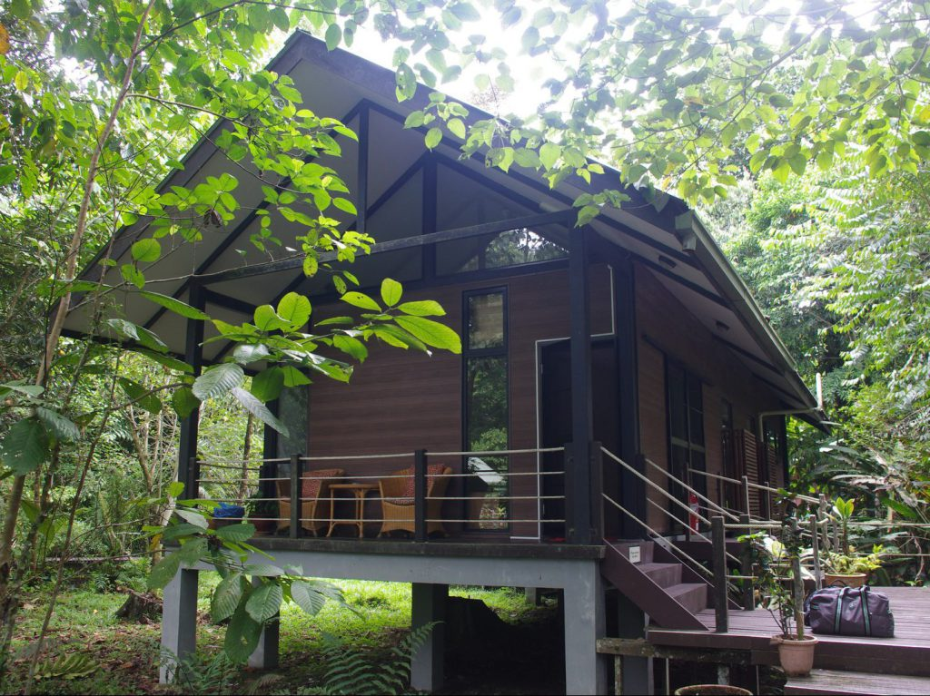 Bungalow headquarters Gunung Mulu National Park Borneo