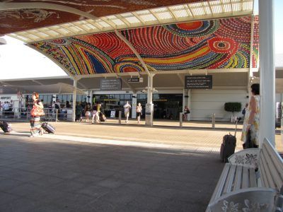Darwin: transport to and from the airport