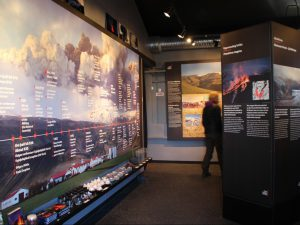 Exposition at Iceland Erupts Museum Iceland