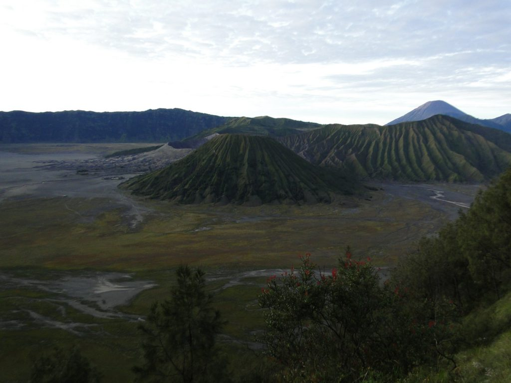 Sunrise Bromo volcano Indonesia