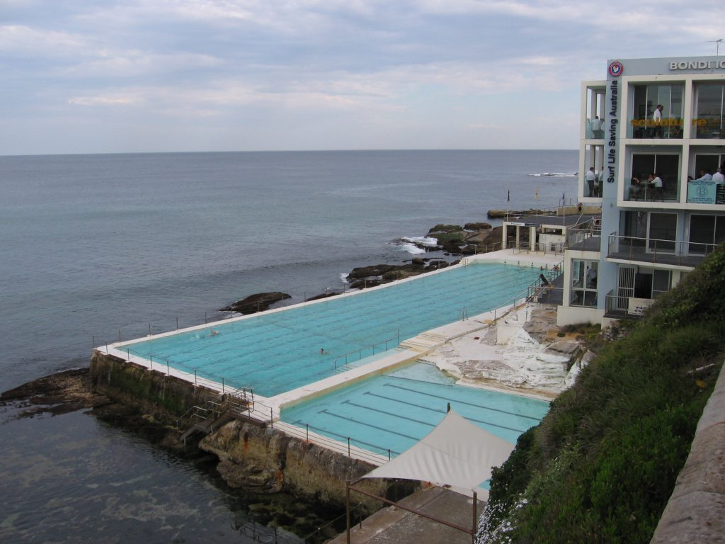 Swimming pool Bondi Baths Bondi Beach Sydney Australia