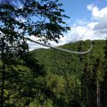 Geierlay: visit the almost longest suspension bridge of Germany