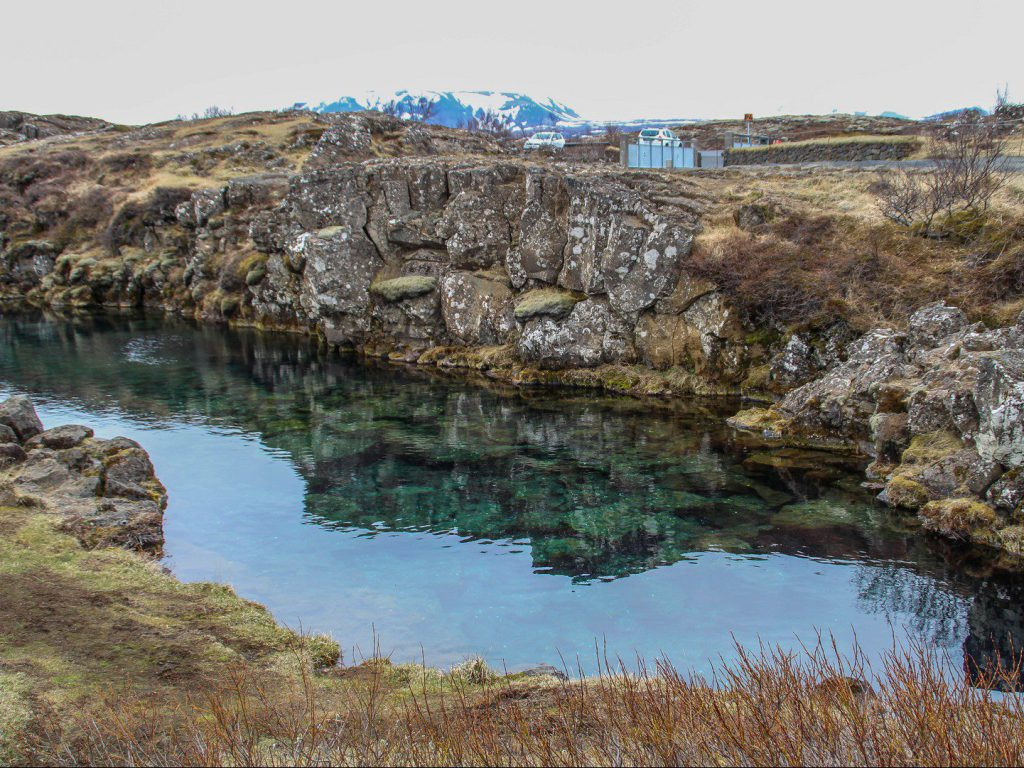 Nikulasargja kloof Thingvellir National Park IJsland